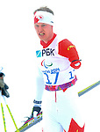 Sochi, Russia.11/03/2014. Canadian Mark Arendz competes in the men's 12.5km standing biathlon  at the Sochi 2014 Paralympic Winter Games in Sochi Russia. Arendz won the bronze medal(Photo Scott Grant/Canadian Paralympic Committee)
