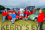 Members of the Abbeydorney Vintage Society launch their Abbeydorney Vintage Tractor and Car Run in aid of the Kerry Hospice Palliative Care on Friday evening. <br /> Front right: Mike Baker<br /> Back l to r: Joe Hennebry, John O'Connor, Johnny O'Sullivan, Tom Enright, Cian O'Mahoney, Robert Sheehy, Eamon and Tom O'Connell, Brian McKenna, George Marshall, Joe Sullivan, Donal  McGrath and Sean Hegarty.