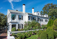 Historic captains home, Edgartown, Martha's Vineyard, Massachusetts, USA