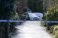 2020 01 28 Murder in Pontwalby, Glynneath, Wales, UK