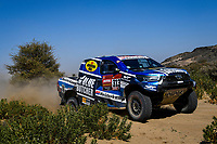 3rd January 2021, Jeddah, Saudi Arabia;  #313 Van Loon Erik (nld), Delaunay Sebastien (fra), Toyota Overdrive Toyota, Auto, action during the 1st stage of the Dakar 2021 between Jeddah and Bisha, in Saudi Arabia on January 3, 2021 -