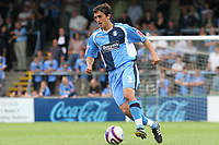 Craig Woodman of Wycombe Wanderers, former Bristol City player, in action during Wycombe Wanderers vs Lincoln City, Coca Cola League Division Two Football at Adams Park on 23rd August 2008