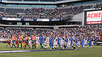 PHILADELPHIA, PENNSYLVANIA - JUNE 30: Pre-game  during the 2019 CONCACAF Gold Cup quarterfinal match between the United States and Curacao at Lincoln Financial Field on June 30, 2019 in Philadelphia, Pennsylvania.