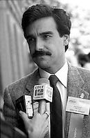 Eric Maldoff attend the Alliance Quebec Convention, June 2, 1984