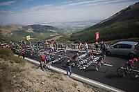 stage 20: San Lorenzo de el Escorial - Cercedilla (176km)<br /> 2015 Vuelta à Espana