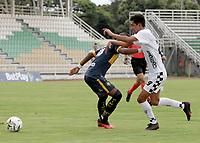 PALMIRA - COLOMBIA, 23-07-2021: Boca Juniors de Cali y Boyacá Chicó F.C. en partido por la fecha 1 de la Torneo BetPlay DIMAYOR II 2021 jugado en el estadio Francisco Rivera Escobar de la ciudad de Palmira. / Boca Juniors de Cali and Boyaca Chico F.C. in match for the for the date 1 as part of BetPlay DIMAYOR Tournament II 2021 played at Francisco Rivera Escobar stadium in Palmira city. Photo: VizzorImage / Samir Rojas / Cont