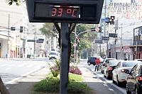 Campinas (SP), 10/09/2020 - Clima - A temperatura em Campinas (SP) chegou aos 34,8°C na tarde desta quinta-feira (10), a mais alta do ano segundo o Cepagri (Centro de Pesquisas Meteorológicas e Climáticas Aplicadas à Agricultura) da Unicamp. Até então, a temperatura mais alta havia sido registrada no dia 17 de janeiro, com 34,7°C.<br /> A região sofre com a influência de uma forte massa de ar seco, que impede a formação de nebulosidade, e com o calor intenso com a proximidade da Primavera. Por enquanto, não há previsão de chuvas para os próximos dias.