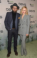 """LOS ANGELES - MARCH 2: Joshua Leonard and Alison Pill attend the premiere of the new FX limited series """"Devs"""" at ArcLight Cinemas on March 2, 2020 in Los Angeles, California. (Photo by Frank Micelotta/FX Networks/PictureGroup)"""