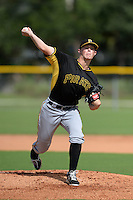 Pittsburgh Pirates pitcher Mitch Keller (51) during an Instructional League game against the Tampa Bay Rays on September 27, 2014 at the Charlotte Sports Park in Port Charlotte, Florida.  (Mike Janes/Four Seam Images)