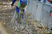 mud reconnaissance<br /> <br /> GP Sven Nys 2015