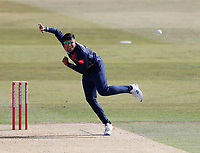 Imran Qayyum of Kent bowls during Kent Spitfires vs Essex Eagles, Vitality Blast T20 Cricket at The Spitfire Ground on 18th September 2020