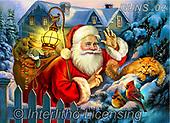 Nadia, CHRISTMAS SANTA, SNOWMAN, WEIHNACHTSMÄNNER, SCHNEEMÄNNER, PAPÁ NOEL, MUÑECOS DE NIEVE, paintings+++++,RUNS02,#X#