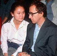 Woody Allen and Soon Yi 1990<br /> Photo By John Barrett/PHOTOlink