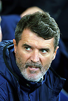 Ireland asistant manager Roy Keane during the FIFA World Cup Qualifier Group D match between Wales and Republic of Ireland at The Cardiff City Stadium, Wales, UK. Monday 09 October 2017