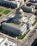 October 16, 2005; San Francisco, CA, USA; Aerial view of San Francisco City Hall in San Francisco, CA. Photo by: Phillip Carter