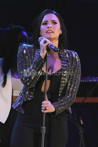 LOS ANGELES, CA - OCTOBER 24: Demi Lovato performs at the Third Annual We Can Survive benefit concert at The Hollywood Bowl in Los Angeles, California on October 24, 2015. Credit: mpi21/MediaPunch