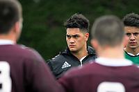 170925 Rugby - NZ Schools Training