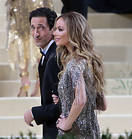 September 13, 2021.Adrien Brody, Georgina Chapman attend The 2021 Met Gala Celebrating In America: A Lexicon Of Fashion at<br /> Metropolitan Museum of Art  in New York September 13, 2021 Credit:RW/MediaPunch