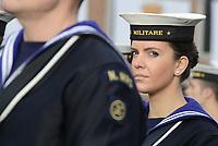 Roma , 4 Novembre 2017<br /> Celebrazione della Festa delle Forze Armate, parata Militare