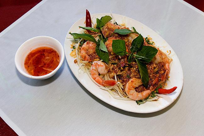 Seafood Papaya Salad, Ang Hong Vietnamese Restaurant, Orlando, Florida