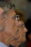Julgamento de Raifran das Neves Sales o Fogoió e Clodoaldo Carlos Batista ,conhecido como Eduardo, pelo  pelo assassinato da missionária americana Dorothy Mae Stang ocorrido  no municÌpio de Anapú no estado do Pará em 12/02/2005.Belém, Pará, Brasil.Foto Paulo Santos/Interfoto<br /> 9/12/2005