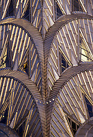 Chrysler Building detail;, New York