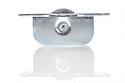 "Brass Ball Bearing Sash Pulleys 1 3/4"" : Polished Satin Profile"
