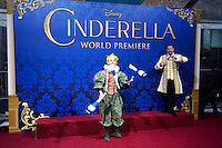 """LOS ANGELES - MAR 1:  Atmosphere at the """"Cinderella"""" World Premiere at the El Capitan Theater on March 1, 2015 in Los Angeles, CA"""