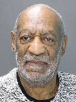 ELKINS PARK, PA - DECEMBER 30:  William H. Cosby poses for a mugshot photo during his arraignment December 30, 2015 in Elkins Park, Pennsylvania. Cosby was arraigned at 2:30 p.m. before Magisterial District Judge Elizabeth McHugh and charged with Aggravated Indecent Assault. Bail was set at $1 million under the condition that he surrender his passport and have no contact with the victim. Cosby was released.after posting $100,000, the required 10 percent of bail. <br /> <br /> People:  Bill Cosby