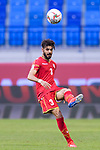 Waleed Mohamed Alhayam of Bahrain in action during the AFC Asian Cup UAE 2019 Group A match between Bahrain (BHR) and Thailand (THA) at Al Maktoum Stadium on 10 January 2019 in Dubai, United Arab Emirates. Photo by Marcio Rodrigo Machado / Power Sport Images