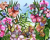 Lori, FLOWERS, BLUMEN, FLORES, paintings+++++spring_butterflies,USLS306,#f#, EVERYDAY ,puzzle,puzzles