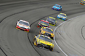 Monster Energy NASCAR Cup Series<br /> Tales of the Turtles 400<br /> Chicagoland Speedway, Joliet, IL USA<br /> Sunday 17 September 2017<br /> Daniel Suarez, Joe Gibbs Racing, STANLEY Toyota Camry, Matt Kenseth, Joe Gibbs Racing, DEWALT Flexvolt Toyota Camry and Clint Bowyer, Stewart-Haas Racing, Rush Truck Centers Ford Fusion<br /> World Copyright: Russell LaBounty<br /> LAT Images