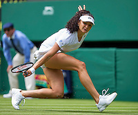 London, England, 28 june, 2016, Tennis, Wimbledon, Amra Sadikovic (SUI)<br /> Photo: Henk Koster/tennisimages.com