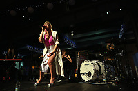 Singer Betsy, performs at the National Waterfront Museum in Swansea, Wales, UK.<br />NO SYNDICATION<br />NO THIRD PARTY SYNDICATION