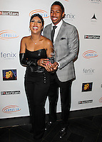 HOLLYWOOD, LOS ANGELES, CA, USA - SEPTEMBER 18: Toni Braxton, Nick Cannon arrive at the 'Get Lucky For Lupus' 6th Annual Poker Tournament held at Avalon on September 18, 2014 in Hollywood, Los Angeles, California, United States. (Photo by Celebrity Monitor)