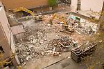 Urban building demolition and material recycling, Portland, Oregon