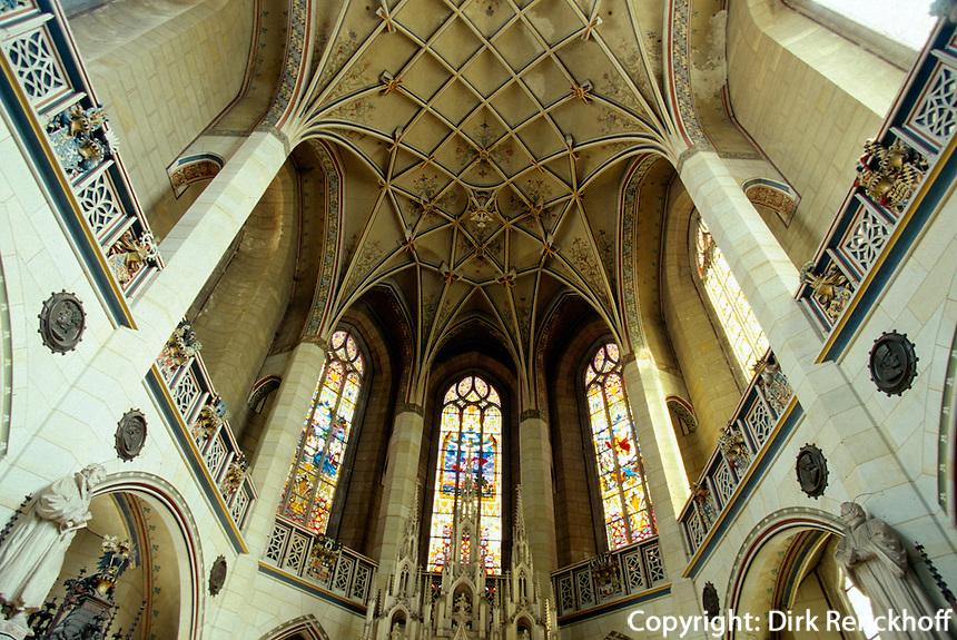 Deutschland, Sachsen-Anhalt, Schlosskirche in Wittenberg, Unesco-Weltkulturerbe