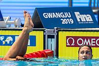 QUADARELLA Simona ITA ITALY Silver Medal<br /> Gwangju South Korea 27/07/2019<br /> Swimming Women's 800m Freestyle Final<br /> 18th FINA World Aquatics Championships<br /> Nambu University Aquatics Center <br /> Photo © Andrea Masini / Deepbluemedia / Insidefoto