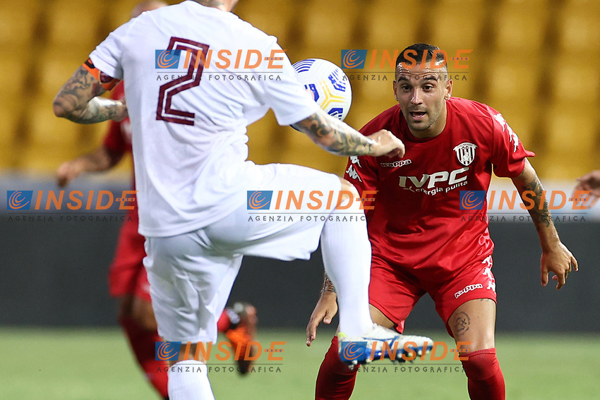 Roberto Insigne of SC Benevento<br /> during the friendly football match between SC Benevento Calcio and SC Reggina 1914 at stadio Ciro Vigorito in Benevento, Italy, September 12, 2020. <br /> Photo Cesare Purini / Insidefoto