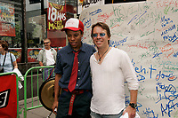 NABI et Paul Sarrasin au 18 ans de Musique Plus, aout 2004