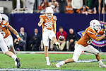 Texas Longhorns place kicker Michael Davidson (35) in action during the Advocare V100 Texas Bowl game between the Arkansas Razorbacks and the Texas Longhorns at the NRG Stadium in Houston, Texas. Arkansas defeats Texas 31 to 7.