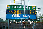 Scoreboard during the Allianz Football League Division 1 Semi-Final, between Tyrone and Kerry at Fitzgerald Stadium, Killarney, on Saturday.