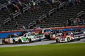 #15: Anthony Alfredo, DGR-Crosley, Toyota Tundra STEELSMITH and #38: Ross Chastain, Niece Motorsports, Chevrolet Silverado Niece Equipment
