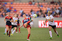 Houston, TX - Sunday Oct. 09, 2016: Megan Oyster during the National Women's Soccer League (NWSL) Championship match between the Washington Spirit and the Western New York Flash at BBVA Compass Stadium.
