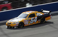 Feb 20, 2009; Fontana, CA, USA; NASCAR Sprint Cup Series driver Geoff Bodine during practice for the Auto Club 500 at Auto Club Speedway. Mandatory Credit: Mark J. Rebilas-