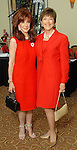 Anne Hooper and Cindy Crane Garbs at the American Heart Association Go Red for Women luncheon at the InterContinental Houston Monday May 04,2009.  (Dave Rossman/For the Chronicle)