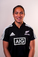 Angie Sisifa. New Zealand Black Ferns headshots at The Rugby Institute, Palmerston North, New Zealand on Thursday, 28 May 2015. Photo: Dave Lintott / lintottphoto.co.nz