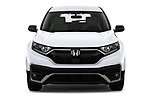 Car photography straight front view of a 2020 Honda CR-V LX 5 Door SUV Front View