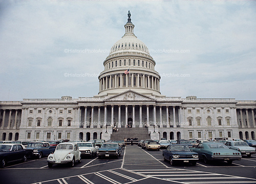 CS-BH39  United States Capitol, Washington DC, July 1969.