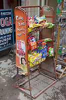 India, Rishikesh.  Snack Foods for Sale.